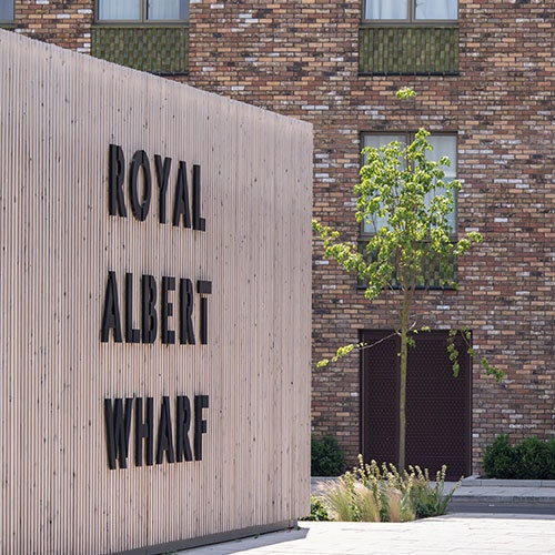 Royal Albert Wharf Sidebar