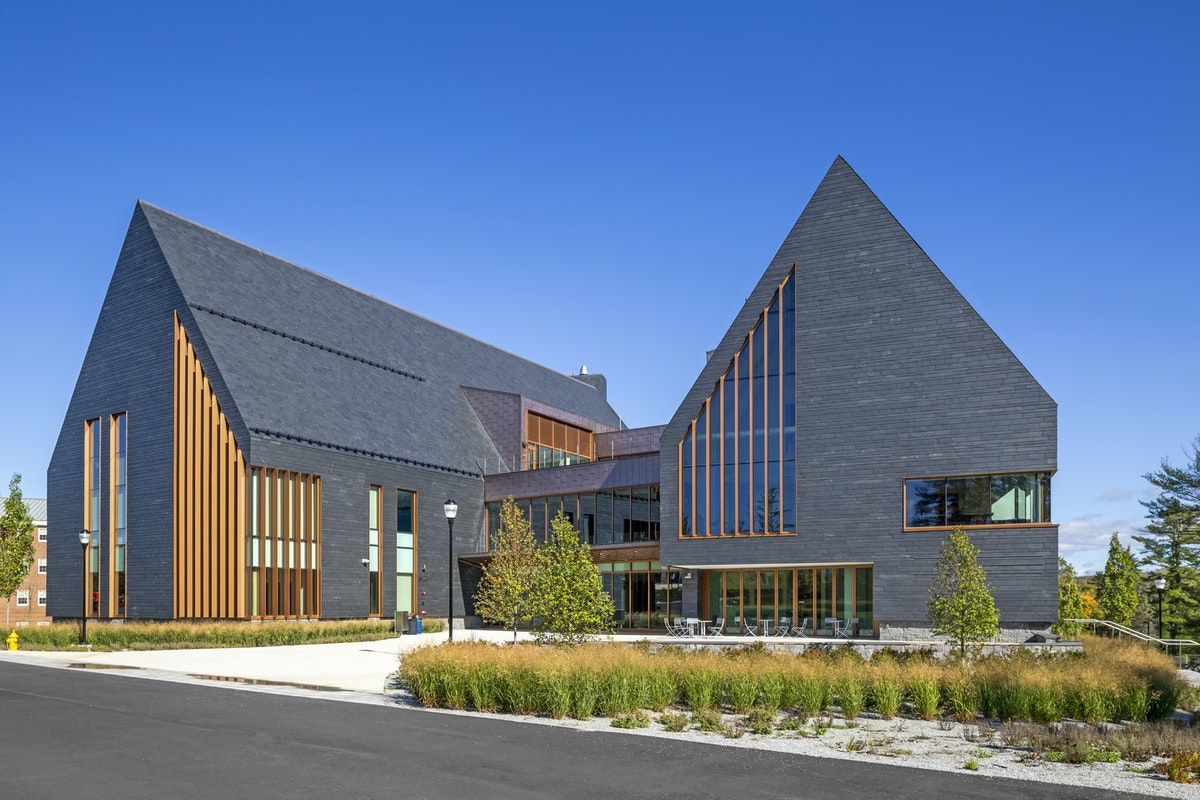 Cupaclad Slate Cladding installed at SNHU College, USA
