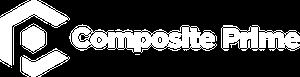 Composite prime logo white